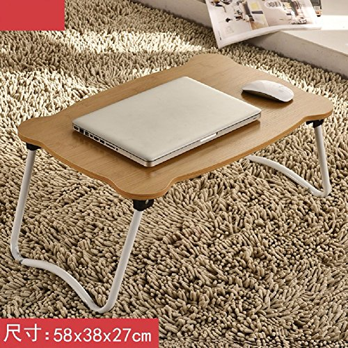 Moderner Aktenschrank (KHSKX Laptop-Schreibtisch, Bett mit einfachen Tisch, moderner Klapptisch Schlafsaal faul, lernen kleiner Schreibtisch,7)