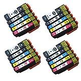 caidi 20x Ersatz für Epson 3333x l Tintenpatronen hohe Kapazität kompatibel mit Epson Expression Premium xp-640xp-530xp-830xp-635xp-900xp-630xp-540xp-645