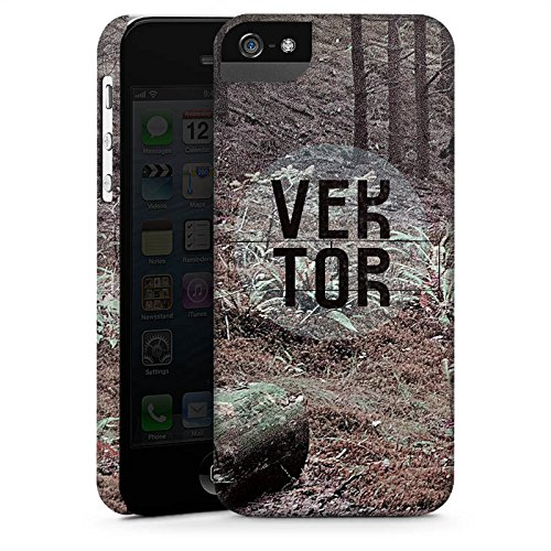 Apple iPhone 6 Housse Étui Silicone Coque Protection Arbres Forêt VEKTOR CasStandup blanc