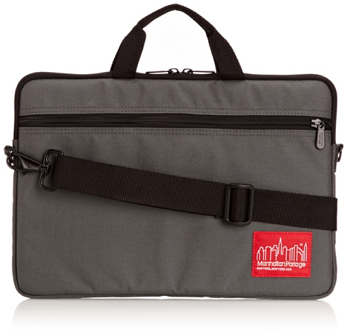 Manhattan Portage 1732 1732, Unisex - Erwachsene Laptop-Tasche, Grau (Grey), M (Gry Messenger Laptop)