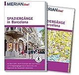 MERIAN live! Reiseführer Spaziergänge in Barcelona: Mit Extra-Karte zum Herausnehmen - Sascha Borrée