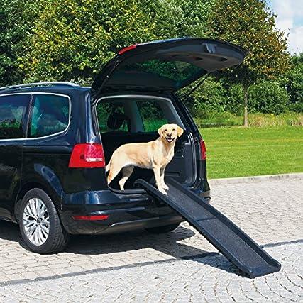 EasiPet, rampa in plastica per cani, pieghevole, leggera e robusta