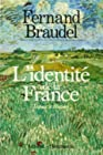 L'identité de la France, espace et histoire