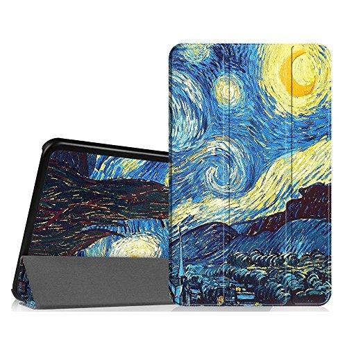 FINTIE Custodia per Samsung Galaxy Tab A 10.1 2016 - Sottile di Peso Leggero Cover con Auto Sveglia/Sonno Funzione per Samsung Galaxy Tab A6 10,1 Pollici SM-T580 / T585, Starry Night
