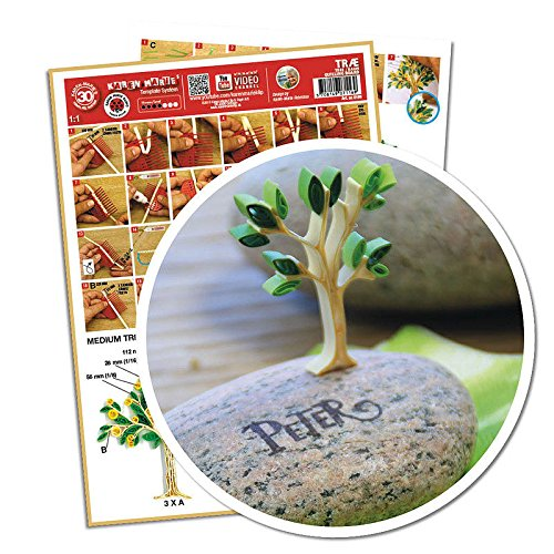 Quilling Template Baum/ Tree (ohne Pappe) (Template Quilling)