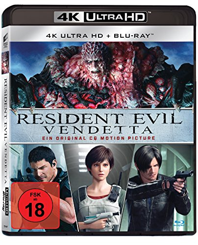Resident Evil: Vendetta - Ultra HD Blu-ray [4k + Blu-ray Disc]