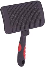 Jainsons Pet Products High Quality Imported Durable Pet Self Cleaning Comfortable Slicker Brush for Dogs and Cats, Suitable for Long or Short Hair (Small)