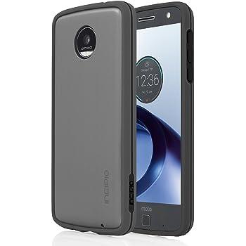 Incipio Bumper Case für Motorola Moto Z Play in schwarz - von Motorola zertifizierte Schutzhülle [Kompatibel mit austauschbaren Rückseiten   Extrem robust   Passgenau] - MT-389-BLK