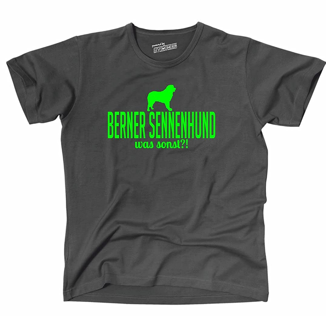 Siviwonder Unisex T-Shirt BERNER SENNENHUND WAS SONST?! Wilsigns Hunde Hund  fun: Amazon.de: Bekleidung