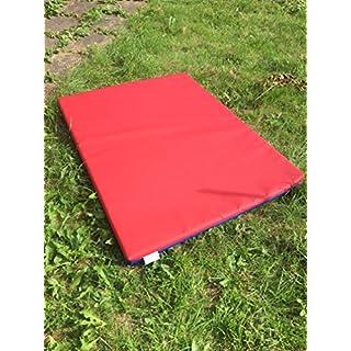 ABM SOFTPLAY Soft Play Gym Mat - Crash Mat - Exercise Mat - 610gsm PVC/High Density Foam - Blue - Green - Pink - Red - Yellow - 120cm x 90cm x 5cm