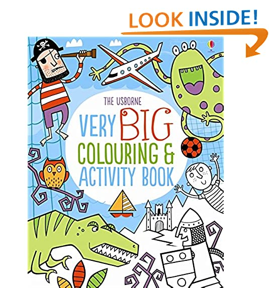 Very Big Colouring And Activity Book Books