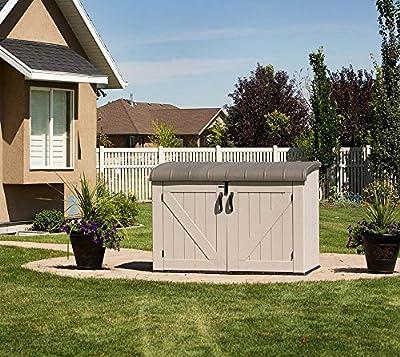 Lifetime XXL Kunststoff Mülltonnenbox, Gerätebox, Aufbewahrungsbox von Lifetime bei Du und dein Garten