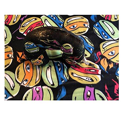 Turtles Teenage Mutant Ninja Überwurf + Reise-Nackenkissen 2-teiliges Set Decke