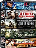Collection Guerre - Coffret 5 Films : Mission Enigma + A L'ouest Rien De Nouveau + Zone De Guerre + Nicaragua + Brand New World - Pack