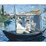 The Medici Society Limited The Barque, Edouard Manet - Medici Drucken