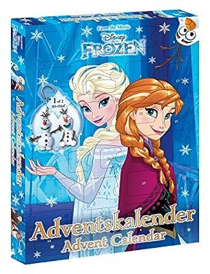 Craze–Frozen, Walt Disney de Calendario de Adviento, Navidad Calendario de la Reina de Hielo de CRAZE