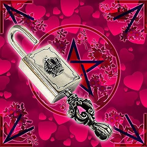 Talisman of Love Chiave dal cuore CROWN Lock & Key