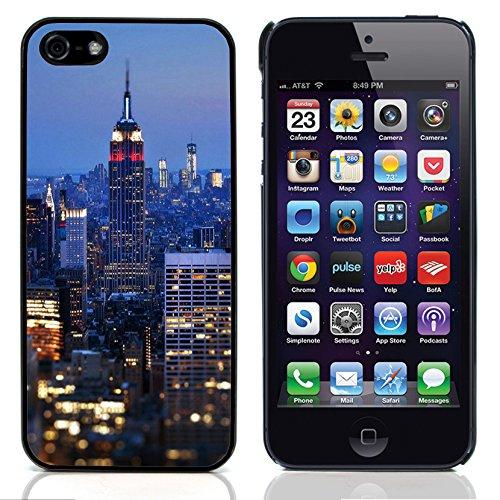 Graphic4You New York City Gelb Taxi Traffic Postkarte Ansichtskarte Design Harte Hülle Case Tasche Schutzhülle für Apple iPhone 5 und 5S Design #5