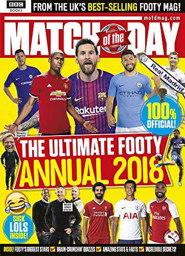 Match of the Day Annual 2018 (Annuals) por Various