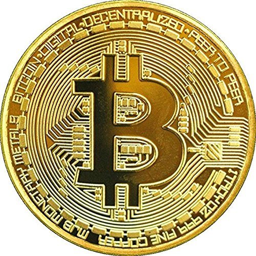 Features:  Color: Golden/Silver/Copper. Name: Bitcoin Collectible Gift. Thickness: 3mm. Diameter: 40mm. Package included:1 x Bitcoin Collectible Gift.