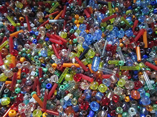 500-mixed-glass-seed-bugle-beads-2-7mm-jewellery-making-sewing-bead-art-by-make-it-with-beads