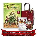 Weihnachtsgeschenk für Mädchen ab 7 Leselöwen-Weihnachtsgeschichten