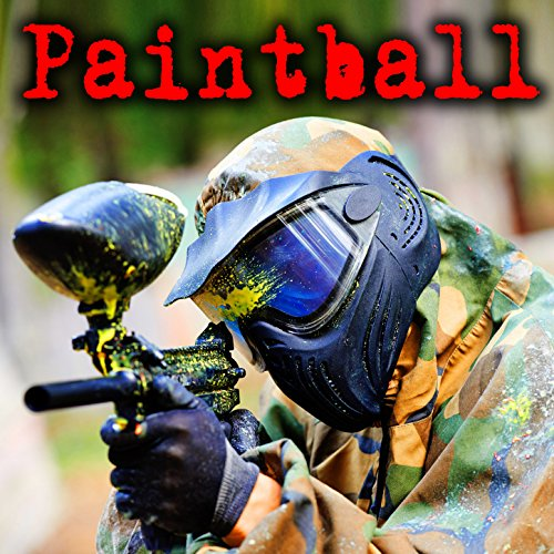 Automatic Co2 Paintball Marker: Distant Fire and Close Impact on Wood Board -