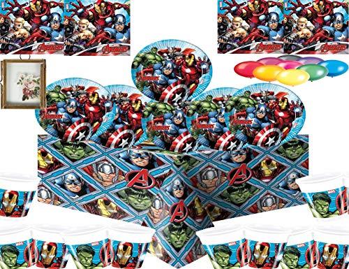 Marvel Avengers Assemble Party Vajilla Platos