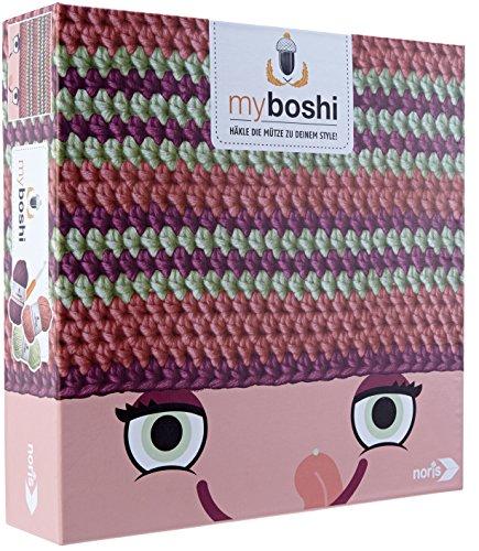 Noris 606311230 Häkel Set, myboshi, Morioka/Tama