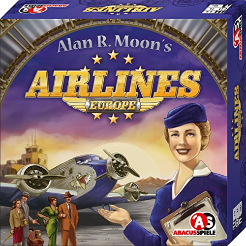 ABACUSSPIELE 03111  Airlines Europe, Brettspiel (Airline)