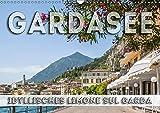 GARDASEE Idyllisches Limone sul Garda (Wandkalender 2019 DIN A3 quer): Malerische Ansichten (Monatskalender, 14 Seiten ) (CALVENDO Orte)
