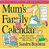 Mum's Family Calendar 2016 (2016 Calendar)
