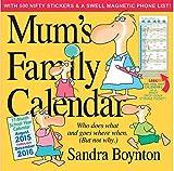 Mums Family Calendar (2016 Calendar)