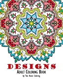 Adult Coloring Book: Designs