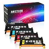4 Pack Amstech kompatibel toner Tonerkartusche replacement fuer Dell 3110 Dell 3110CN Dell MFP 3115CN, XXL, Schwarz/Cyan/Magenta/Gelb-8000 Seiten