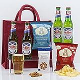 Natures Hampers Gluten-frei Peroni Bier & Snacks mit Freunden Geschenkkorb