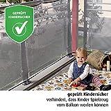 REER Filet de protection pour balcon 94cm x 294cm