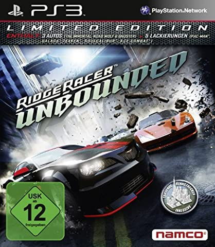 Ridge Racer Unbounded - Limited Edition - [PlayStation 3] (Mario Bros Ps3)