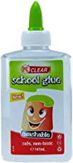 Oytra Glue Clear Transparent | for Office | for School Art and Craft DIY and Slime | 147 ml