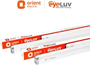Orient Electric 20 Watts EyeLuv Flicker Controlled LED Batten (Pack of 2, Cool White)