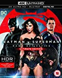 Batman v Superman: Dawn of Justice (Ultimate Edition 4K Ultra HD) [Includes Digital Download] [Blu-ray] [2016] [Region Free]