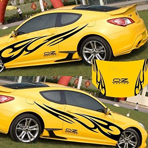em Aufkleber Auto Aufkleber Full Body Car Styling Vinyl Aufkleber Aufkleber für Autos Dekoration ()