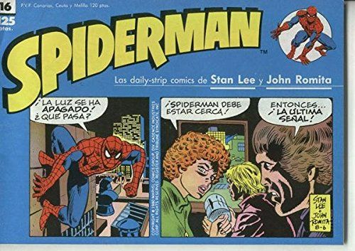 Spiderman tiras de prensa numero 16
