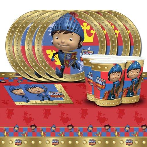 Kit de décoration de table Mike le Chevalier pour 8 personnes