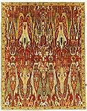 Nain Trading Arijana Design 342x268 Orientteppich Teppich Gelb/Orange Handgeknüpft Afghanistan Design Teppich Modern