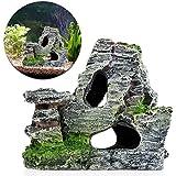 Naisicatar Adorno para acuario de cueva con musgo