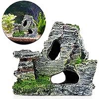 Naisicatar acquario mountain barriera corallina roccia cave pietra Moss Fish Tank ornamento decorazione