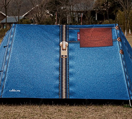 zhudj Outdoor Camping, tentes, 2-3personnes, camping, parcs, coloré, individuellement, créative, haut de gamme Anti tempête, Selbstfahrer Voyage Tente, Cowboy