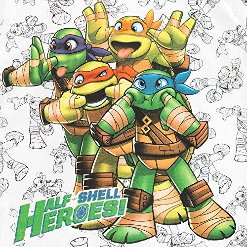 Image of Teenage Mutant Ninja Turtles Boys Ninja Turtles T-Shirt Age 4 to 5 Years