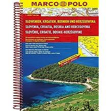 MARCO POLO Reiseatlas Slowenien, Kroatien, Bosnien und Herzegowina 1:300.000 (MARCO POLO Reiseatlanten)